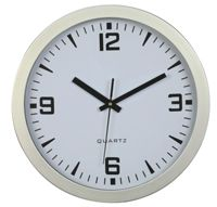 "Picture of 12"" Round Wall Clock - Resin case"