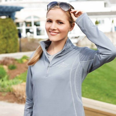 Picture of Caltech Knit Quarter Zip - Womens