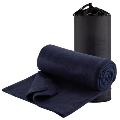 Picture of Polar Fleece Travel Rug - Navy