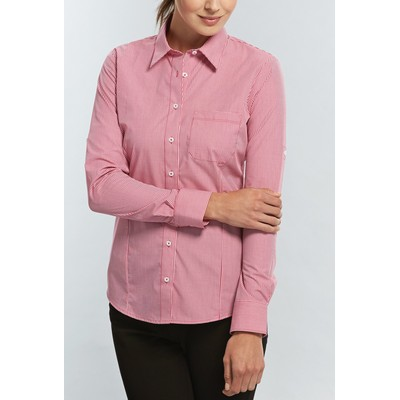 Picture of Womens Micro Gingham Hospitality Shirt