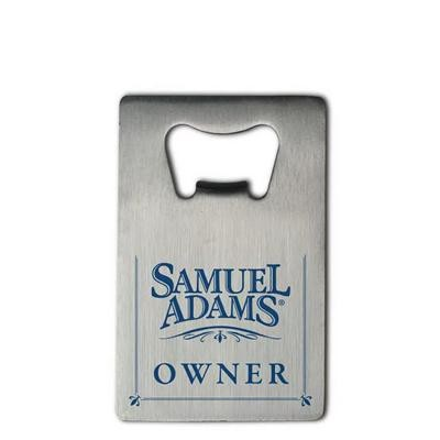 Picture of Stainless Steel Credit Card Bottle opener