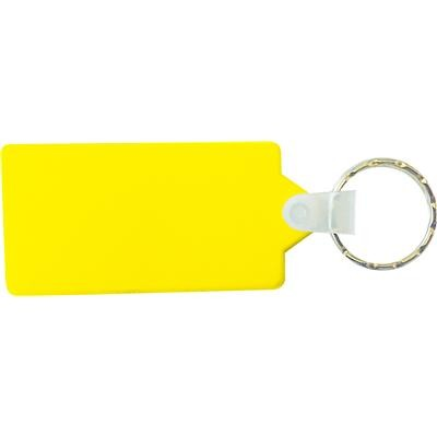 Picture of Oblong Clear Acrylic Keyring (includes full colour process 2 sides)
