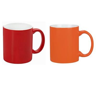Picture of Toronto Can Mug, two tone (300ml) White/