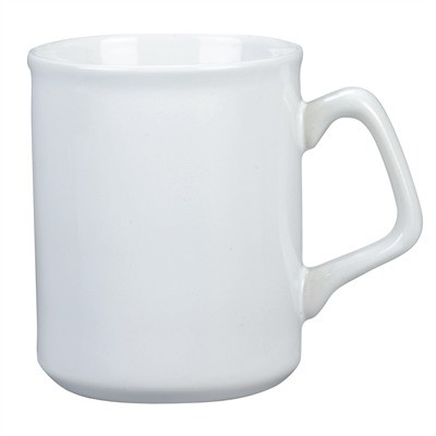 Picture of Vancouver Cup Shaped Mug, RED/White - LARGE (440ml)