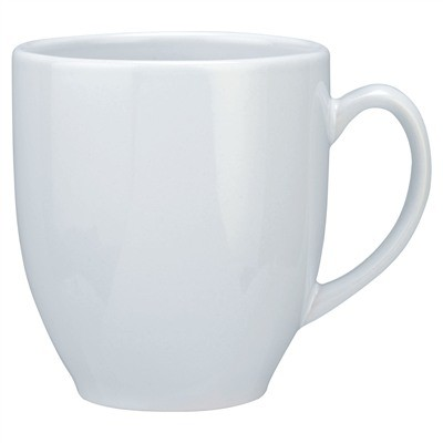 Picture of Winnipeg D Shape Handle, large capacity, all white (380ml)