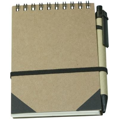 Picture of Recycled Notebook with Ball pen