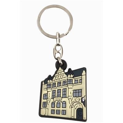 Picture of 2D PVC Key Rings.