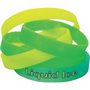 Glow in the Dark Wristbands -debossed