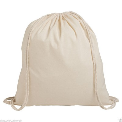 Picture of Forster Calico Drawstring Bag