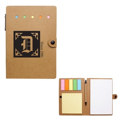 Picture of Large Snap Notebook With Desk Essentials