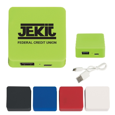 Picture of Power Bank With Rubber Finish 2000 mAh