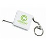 Mini Square Keyring Tape Measure 1M