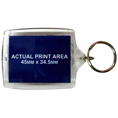 Picture of Acrylic Keyrings 45x35mm