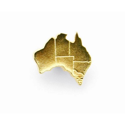 Picture of Map of Australia Souvenir lapel pin