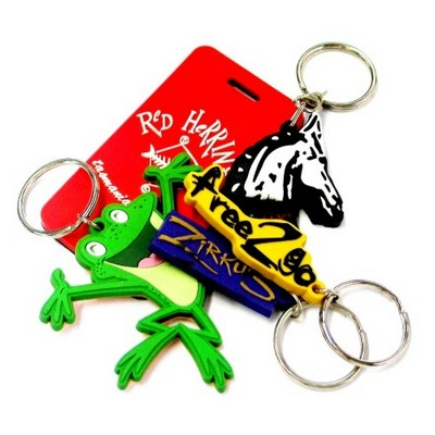 Picture of PVC Keyrings & Lapel pins