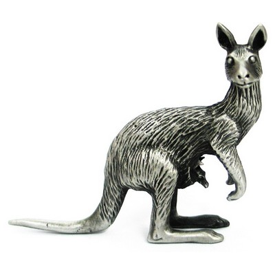 Picture of Kangaroo 3D Pewter Model