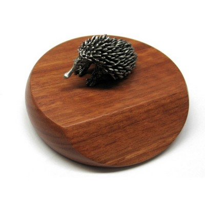 Picture of Echidna mounted on wooded base