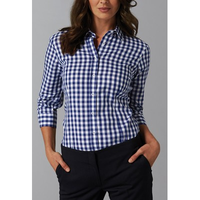 Picture of Womens Royal Oxford Check Shirt