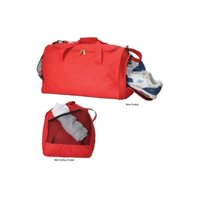 Picture of Basic Sports Bag with Shoe Pocket