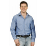 Mens Wrinkle Free Long Sleeve Chambray S