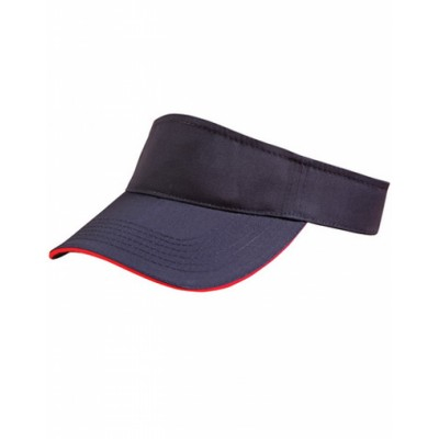 Picture of Polo Twill Visor With Or Without Sandwic