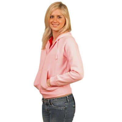 Picture of Ladies Full-zip Fleecy Hoodie