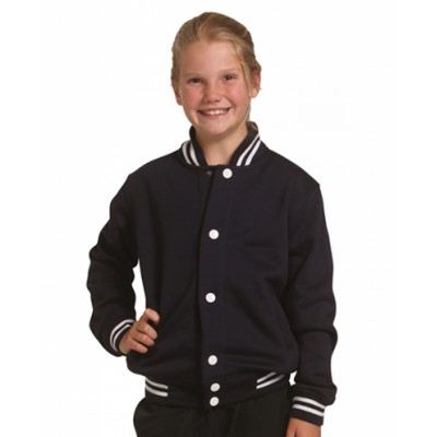 Picture of Kids Fleece Varsity Jacket