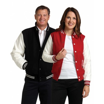 Picture of Unisex Wool Blend Varsity Jacket