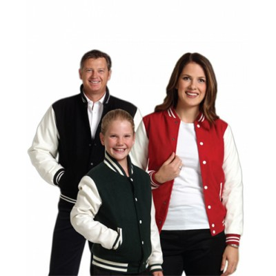 Picture of Kids Wool Blend Varsity Jacket