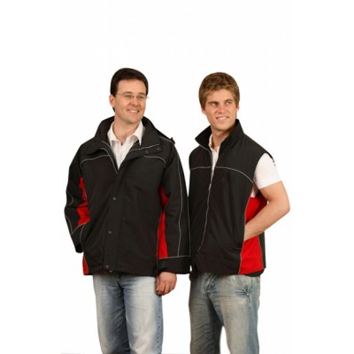 Picture of Mens 3-in-1 Jacket With Reversible Vest