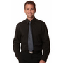 Mens Cotton/Poly Stretch Long Sleeve Shi