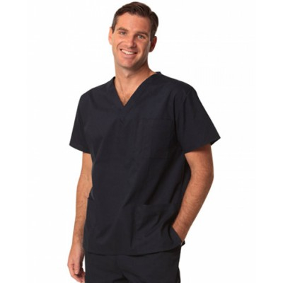 Picture of Unisex Scrubs Short Sleeve Tunic Top