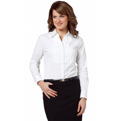 Picture of Ladies Stretch Tuck Front Shirt