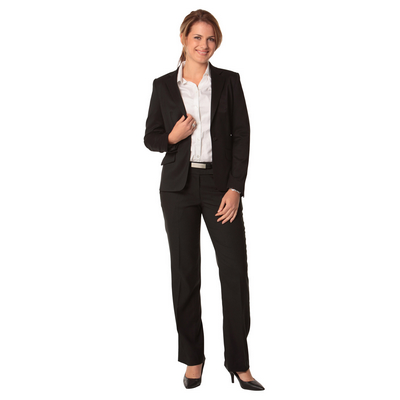 Picture of Ladies Poly/Viscose Stretch One Button C