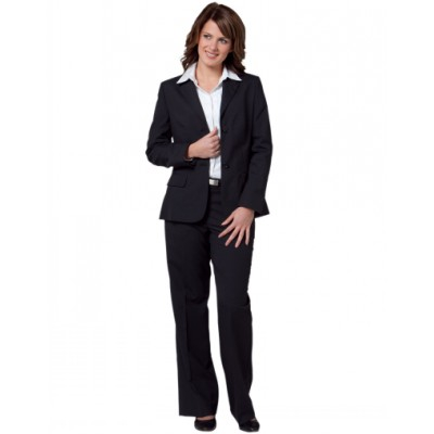 Picture of Ladies Poly/Viscose Stretch Two Buttons