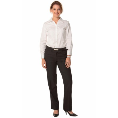 Picture of Ladies Poly/Viscose Stretch Low Rise Pan