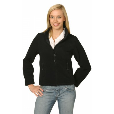 Picture of Ladies Bonded Fleece Jacket