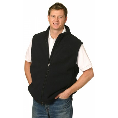 Picture of Mens Bonded Fleece Vest