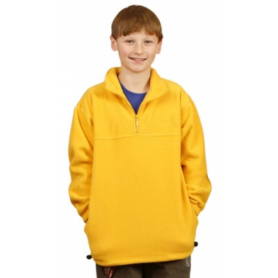 Picture of Kids Half Zip Polar Fleece Pullover