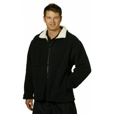 Picture of Mens Shepherd Polar Fleece Contrast Jack