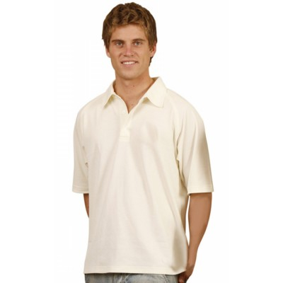 Picture of Mens TrueDry Mesh Knit Short Sleeve Cric