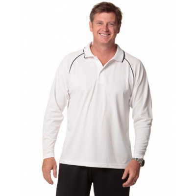 Picture of Mens CoolDry Long Sleeve Contrast Colour