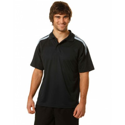Picture of Mens CoolDry Contrast Short Sleeve Polo