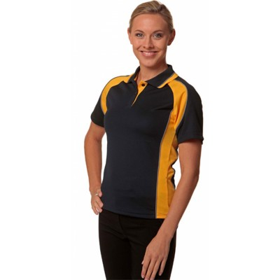 Picture of Ladies CoolDry Mini Waffle Short Sleeve