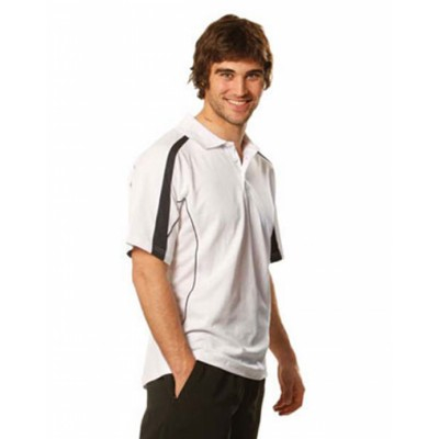Picture of Mens TrueDry Fashion Short Sleeve Polo