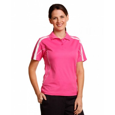Picture of Ladies TrueDry Fashion Short Sleeve Polo