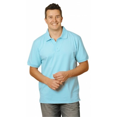 Picture of Mens Cotton Stretch Short Sleeve Polo