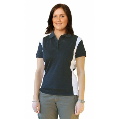 Picture of Ladies CoolDry Ottoman Short Sleeve Golf