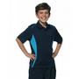 Kids CoolDry Short Sleeve Contrast Polo