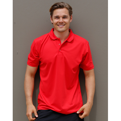 Picture of Mens CoolDry  Polyester Piqué Polo